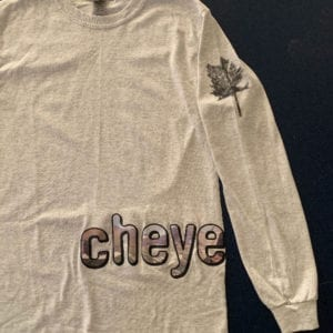 Cheyenne Long Sleeve Shirt Front - Conner Youngblood